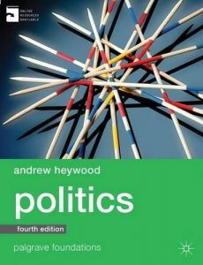 Politics Fourth Edition by Andrew Heywood - Paperback
