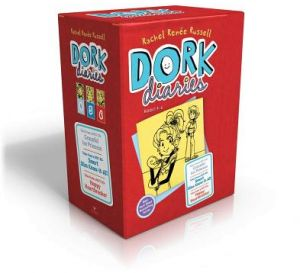 Dork Diaries Box Set (Books 4-6): Dork Diaries 4; Dork Diaries 5; Dork Diaries 6 by Rachel Renee Russell - Hardcover