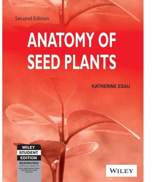 Souq | Anatomy of Seed Plants Second Edition by Katherine Esau ...