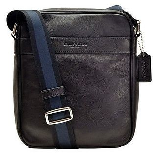 coach pink and gray purse aujs  Coach Leather Bag For Men , Black