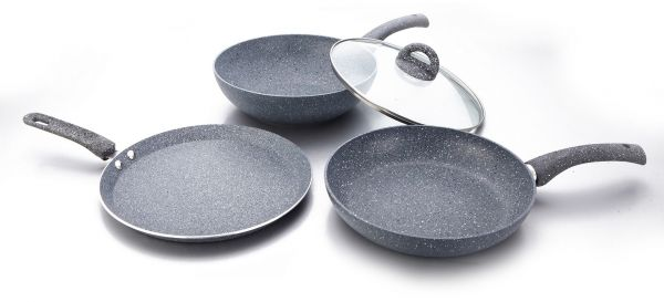 Wonderchef Granite Set Of 3 Pc With Free Dosa Tawa Ksa Souq