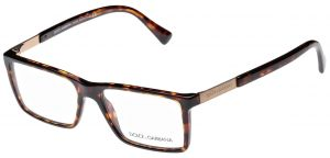 303f87b8645 Dolce   Gabbana Rectangle Men s Reading Glasses - DG 3217 502