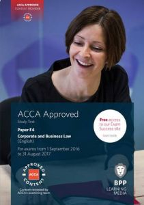 ACCA Exam Kit Paper F4 Corporate and Business Law (English) - Soft Bound
