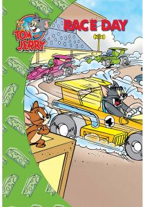 Tom and Jerry Race Day - Hardcover