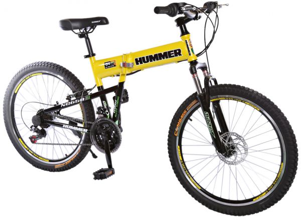 Rally Foldable Hummer Mountain Bike 24 Rs35 Yellow Price