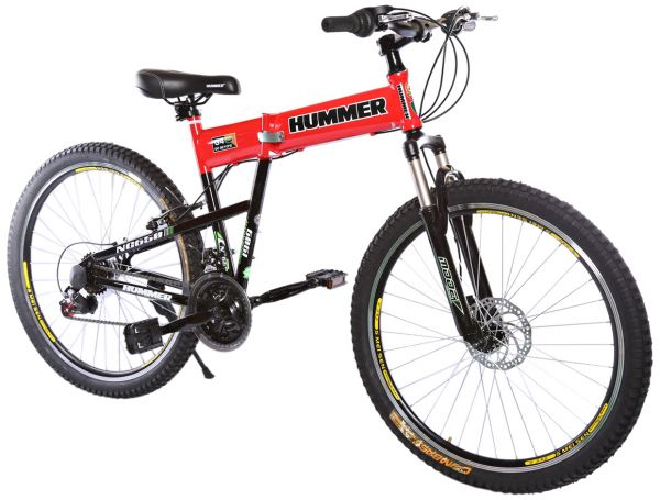 Rally Foldable Hummer Mountain Bike 26 Rs35 Red Price Review