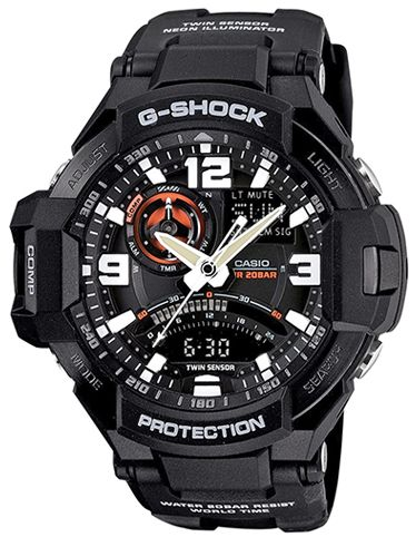 d6f6fee98bd Casio G-Shock Men s Ana-Digi Dial Resin Band Watch - GA-1000-1A ...