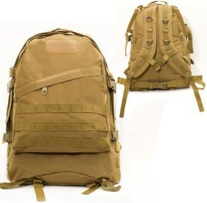 Mud Colour 40L Molle 3D Tactical Outdoor Military Rucksack Backpack Bag  Camping Hiking 7be0154f382b5