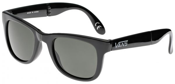 Cans Sunglasses Prices  vans ol foldable square black gloss men s sunglasses
