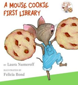 A Mouse Cookie First Library by Laura Joffe Numeroff, Felicia Bond - Hardcover