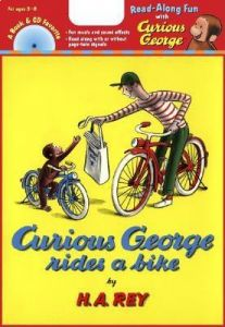 Curious George Rides a Bike [With CD (Audio)] by H. A. Rey - Paperback
