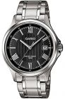 Casio Men's Black Dial Stainless Steel Band Watch - MTP-1383D-1A (Watch)