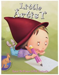 Little Artist; How to Draw Wild Animals by Young Angels - Paperback