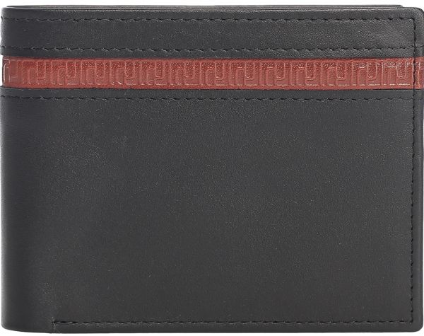 Jafferjees Bifold Wallet For Men Leather Black Souq Uae
