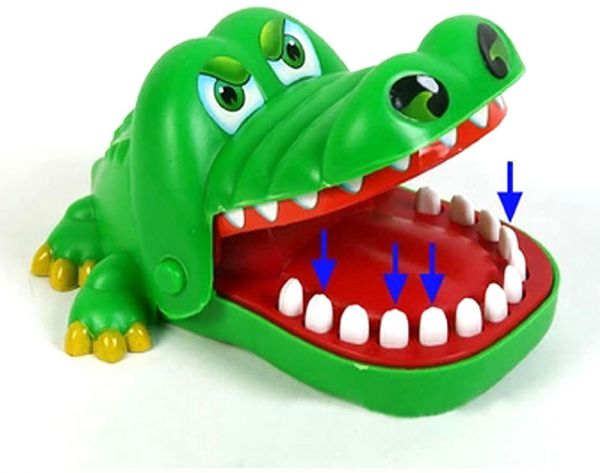 Toys You Should Get : Souq large fun toys crocodile dentist bite finger game