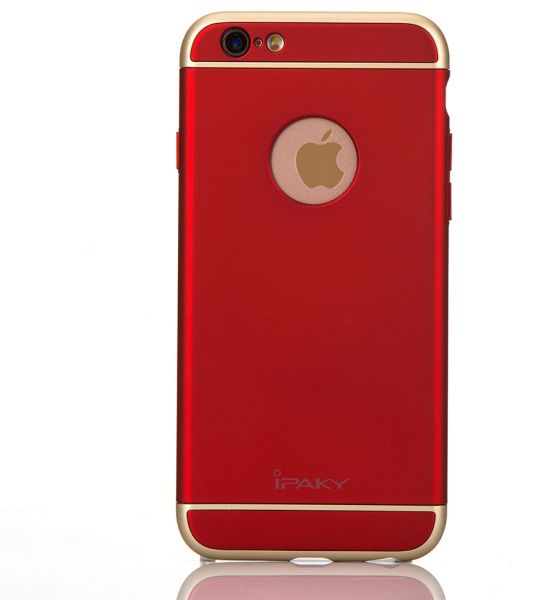 bf6c348158a1d4 iPhone 6/6s Plus - iPaky 3-in-1 PC Hard Case Cover – Red | Souq - Egypt