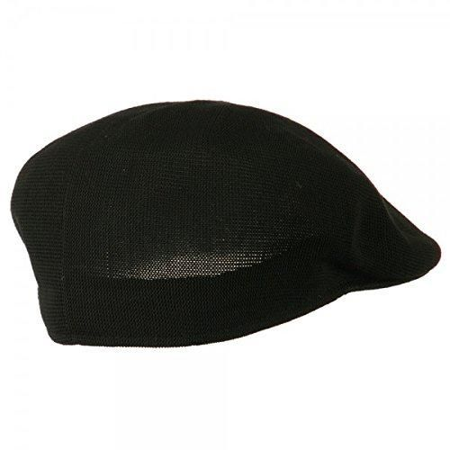 0886765aff1 Q Headwear Black Polyester Beanie   Bobble Hat For Men