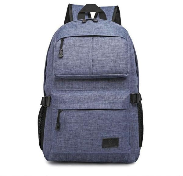 Fashion schoolbag dark blue shoulder bag travel backpack for 12-17 years  old boys and girls ZUB5  7c8b0cef5d806