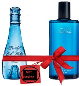 Sale on gift easter gift basket buy gift easter gift basket online coolwater gift basket includes cool water by davidoff for women 100ml cool water by davidoff for men 125ml negle Image collections