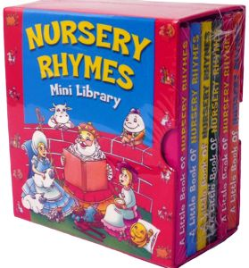 Nursery Rhymes Mini Library - Board Book