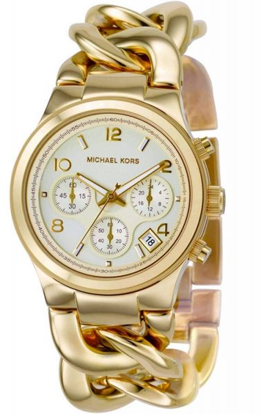 ccd8dbdefdb6 Michael Kors Runway Twist for Women - Casual Stainless Steel Band Watch -  MK3131