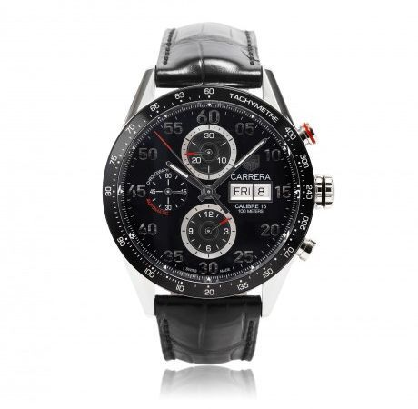 on tag heuer buy tag heuer online at best price in dubai tag heuer carrera for men analog leather band watch