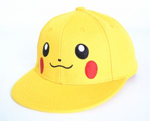 6a9744122d0 Yellow Cotton Basebal Hat For Kids