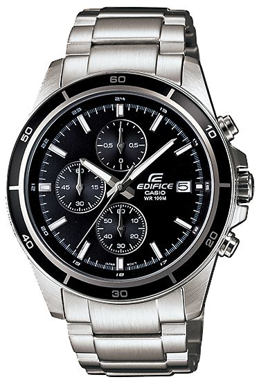 22935ff5b729 Casio EFR-526D-1A Stainless Steel Analog-Chronograph Edifice Mens ...