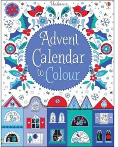 Advent Calendar to Color - Hardcover