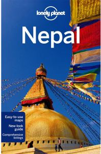 Lonely Planet Nepal by Bradley Mayhew and Lindsay Brown - Paperback