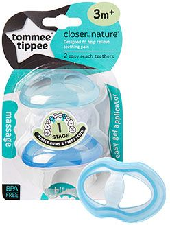 Tommee Tippee TT43645010Blue Closer to Nature Easy Reach Teethers ... 742eb4abbabc