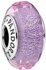 Pandora Women's Purple Shimmer Charm - 925 Sterling Silver and Murano Glass, 791651 (Charm)