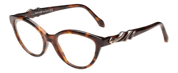 Buy Roberto Cavalli Cat Eye Dark Havana Women\'s Optical Frame - Rc ...