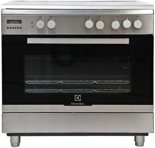electrolux cooker. electrolux free standing gas cooker, silver - ekk945aaox cooker o