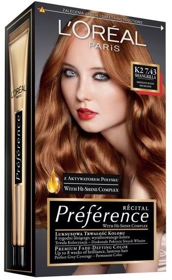 Copper Blonde Hair Color Loreal