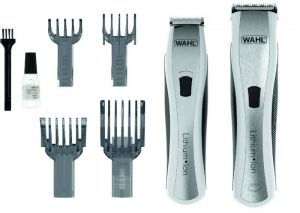 wahl lithium ion duo haircutting grooming kit for men 1481 0466 price review and buy in. Black Bedroom Furniture Sets. Home Design Ideas