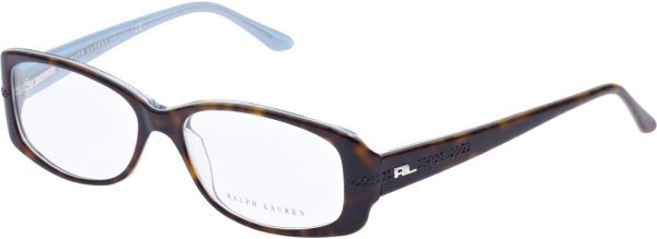 395b6566bc Ralph Lauren Rectangle Brown Women s Eyewear Frame - Rl 6038-b 5211 ...