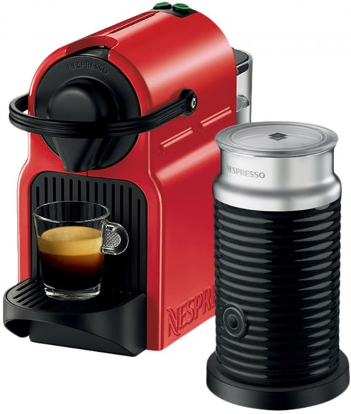 nespresso c40bure inissia coffee machine with aeroccino milk frother - Nespresso Frother