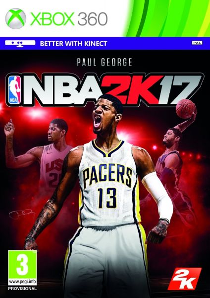 NBA 2K17 by 2K Games - Xbox 360, PAL