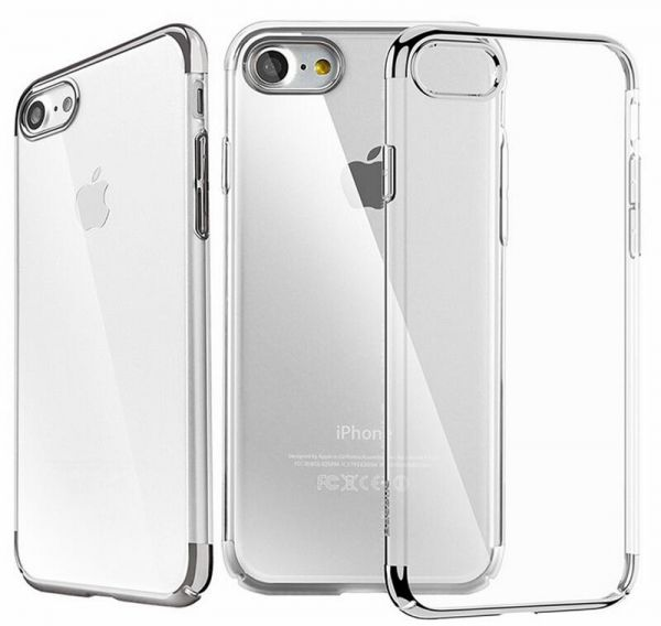 new product bbecd 566f6 Iphone 7 ultraslim transparent case/ cover by Baseus- Grey