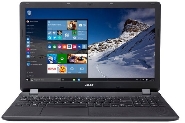 Acer Aspire ES1-572-59GU Laptop - Intel Core i5-6200U, 15.6 Inch HD LED,  500GB, 4GB, Win 10, Black