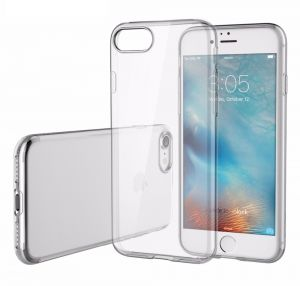 Slim Transparent Ultra-Thin TPU Protective Case Cover for Apple iPhone 7 - Clear