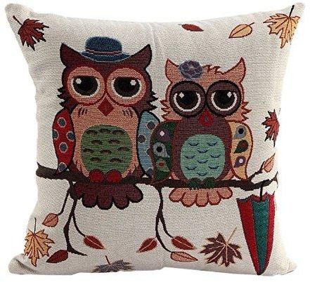 Cute Couple Pillow Covers : Cute Cartoon Square Throw Pillow Case Cushion Cover Decorative Pillow Covers for Sofa - 43 x ...