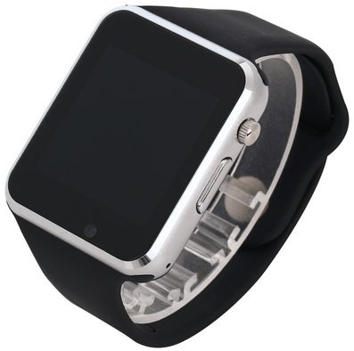 Black A1 Bluetooth WristWatch Sport Pedometer With SIM Camera Smartwatch For Android/IOS Phone
