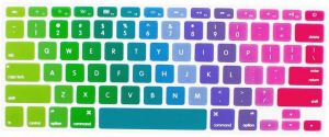 Rainbow Color Series Silicone Keyboard Cover Skin MacBook Air 13 Inch ...