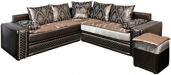 Casablanca Moroccan Sofa Brown