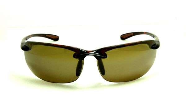 09ebe55def Maui Jim Rectangle Sunglasses for Unisex - Rimless Brown Frame ...