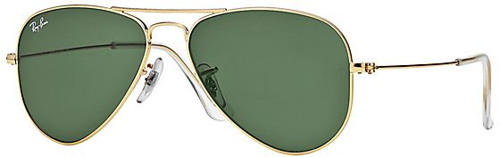 d30056d7fe Ray-Ban Aviator Gold Sunglasses for Men - RB3044 L0207 52-14 - Small ...