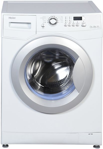 souq haier 7kg front load washing machine white hw70. Black Bedroom Furniture Sets. Home Design Ideas