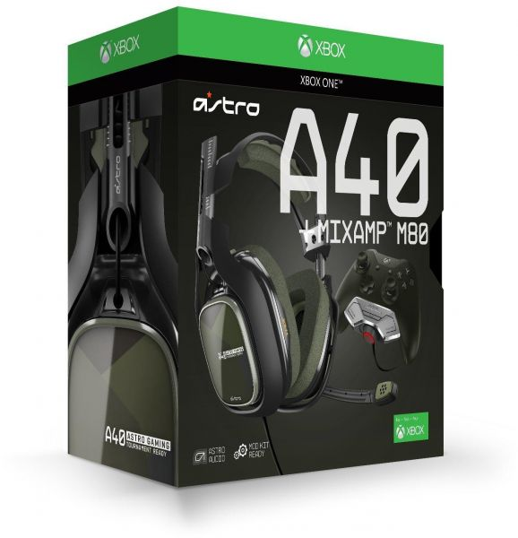 3d18ca7ff4a ASTRO Gaming A40 TR Headset + MixAmp M80 for Xbox One | KSA | Souq